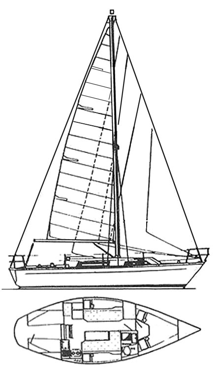 SAILOR 29 (COLVIC) drawing