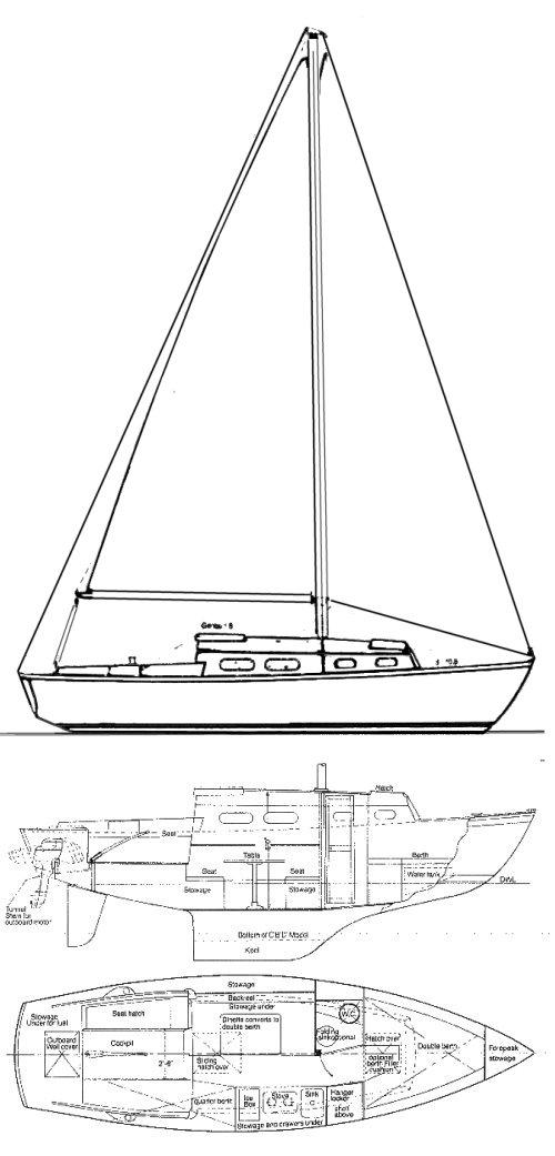 SAILSTAR 26 drawing