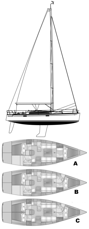 SALONA 38 drawing
