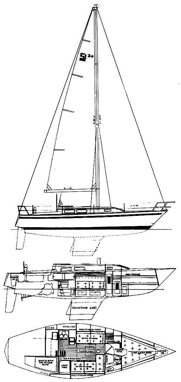 SAN JUAN 34 drawing