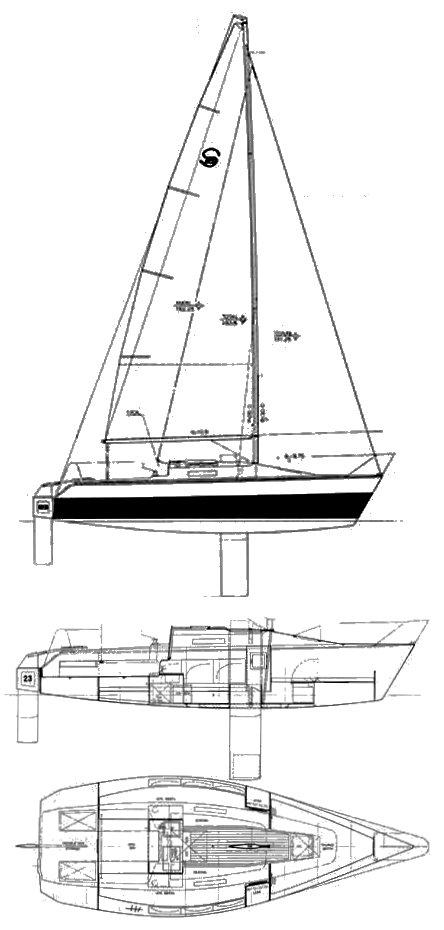 SANTANA 23 D drawing