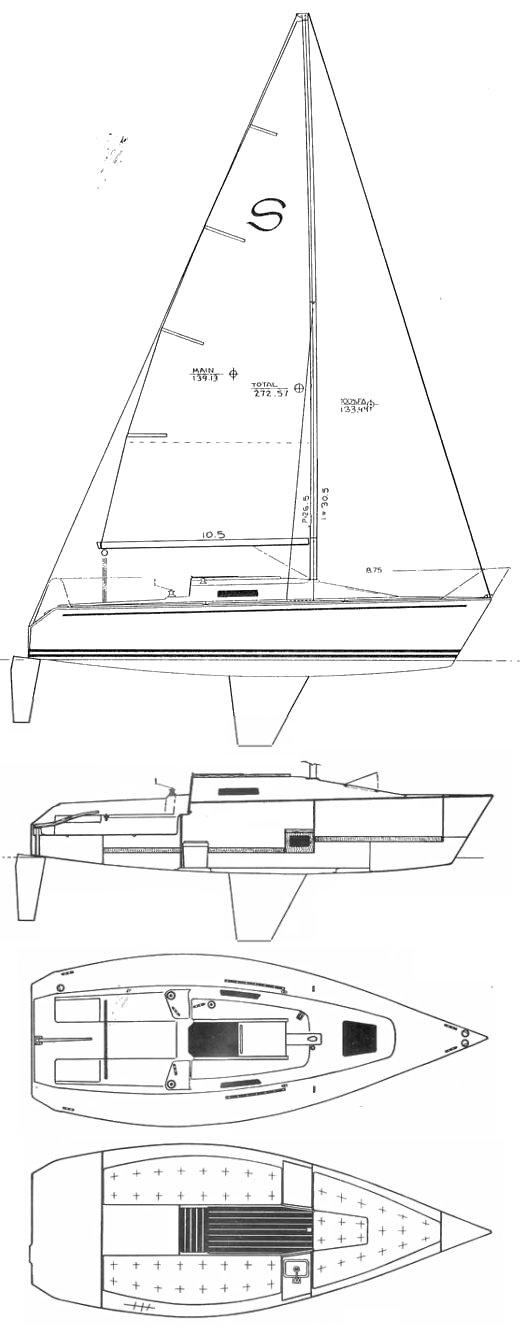 SANTANA 23 K drawing