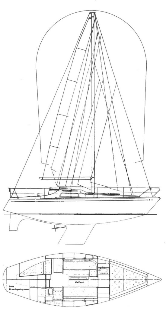scampi-2 drawing on sailboatdata.com