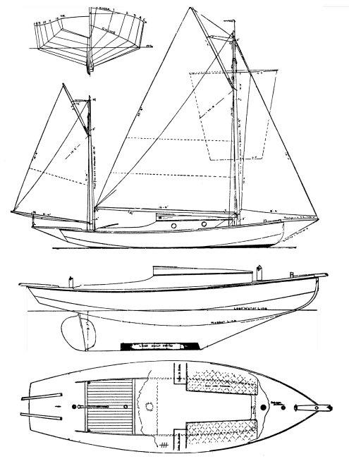 SEA BIRD 26 (1909) drawing