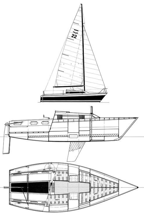 SEA MINI 21 drawing