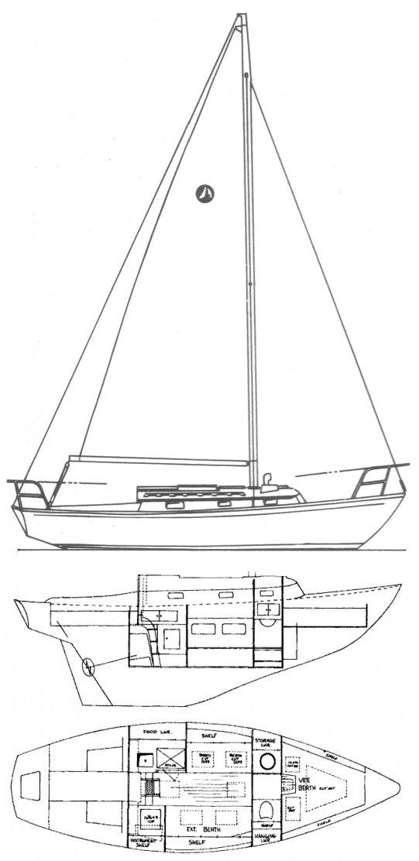 SEA SPRITE 27/28 drawing