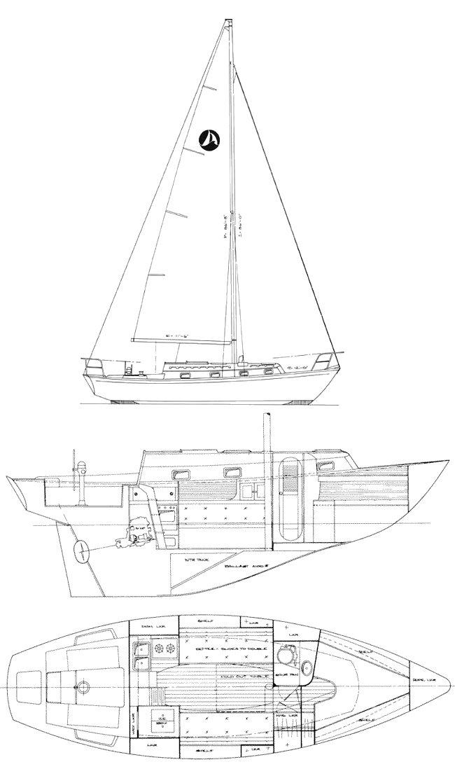 SEA SPRITE 30 drawing