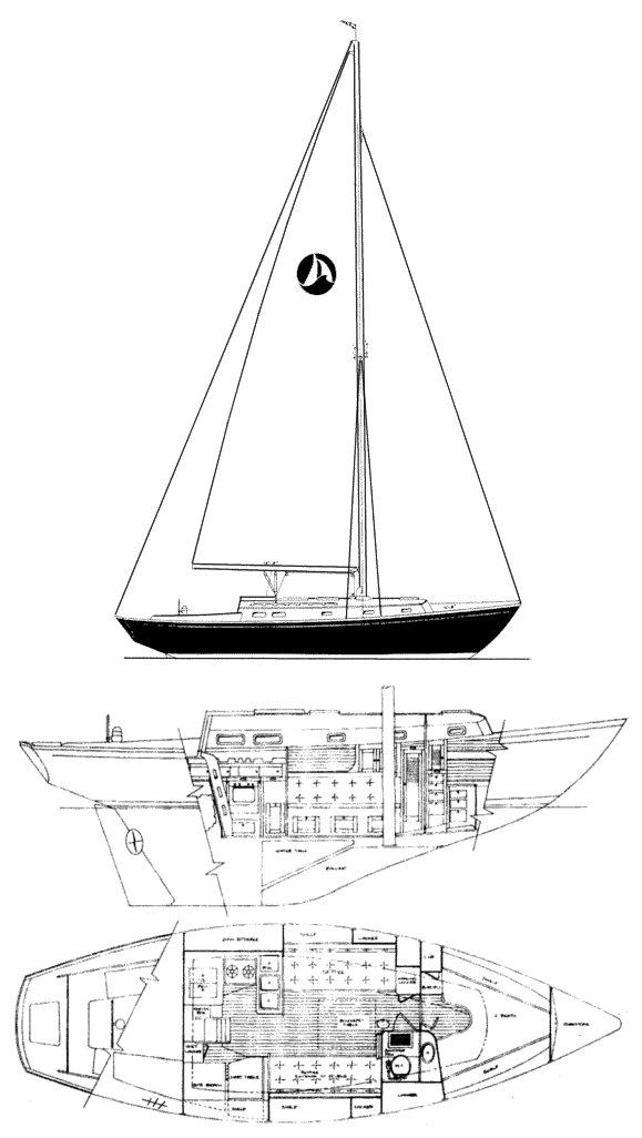 SEA SPRITE 34 drawing