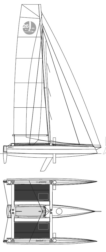 SEACART 26 drawing