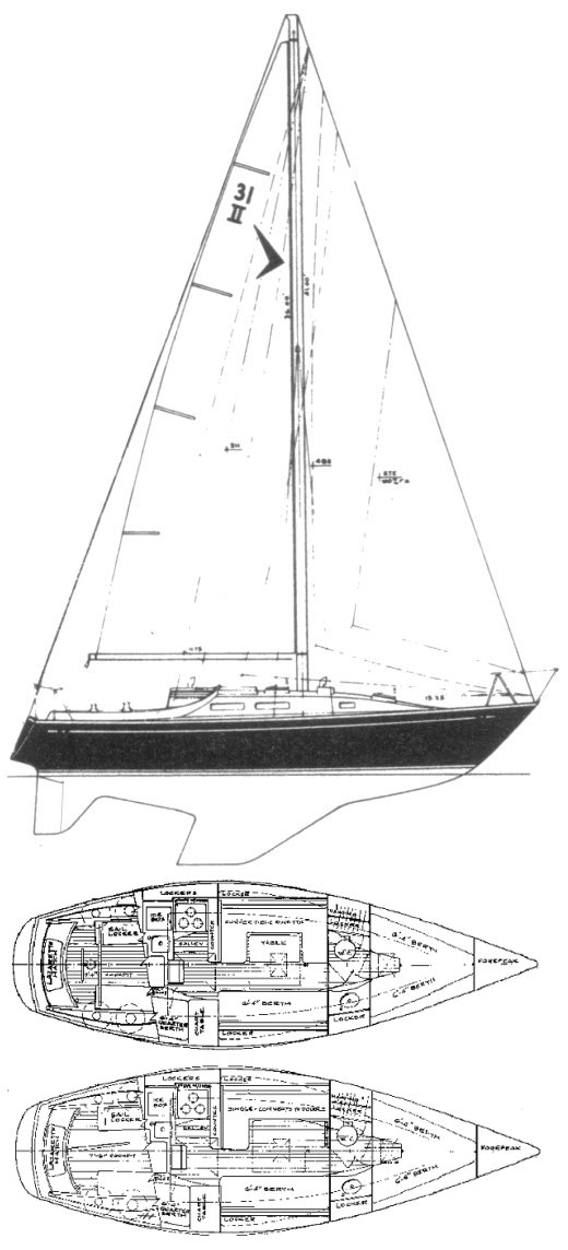 SEAFARER 31 MKII drawing
