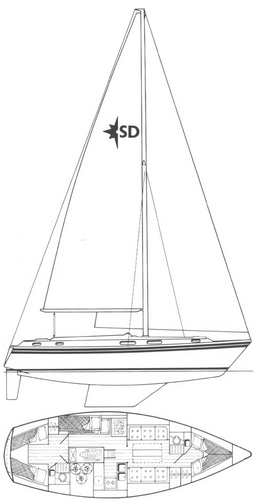 SEALORD 39 (WESTERLY) drawing