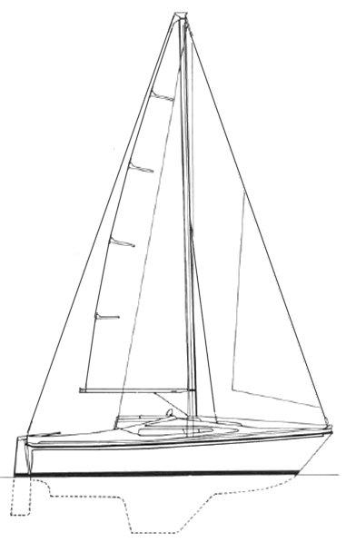SEAMASTER SAILER 815 drawing