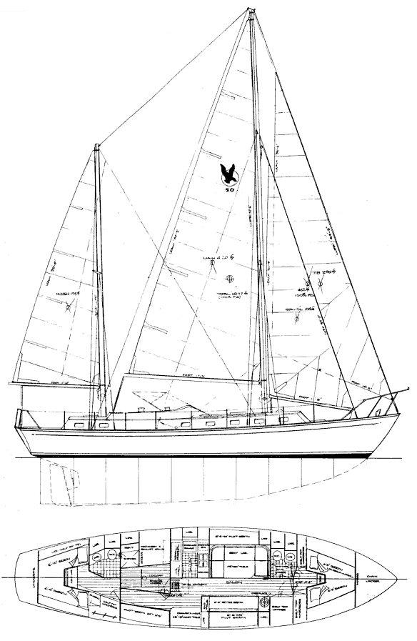SEARAKER 50 drawing