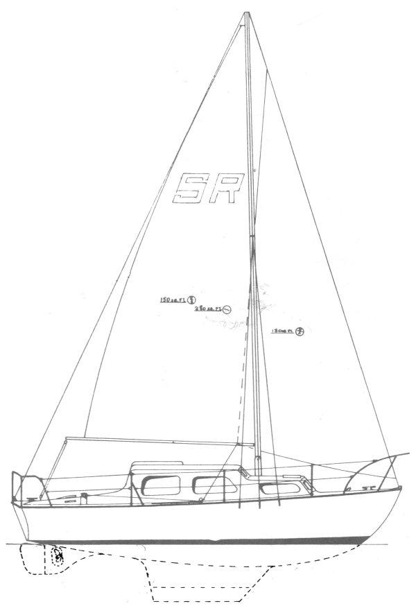 SEARIDER 25 drawing