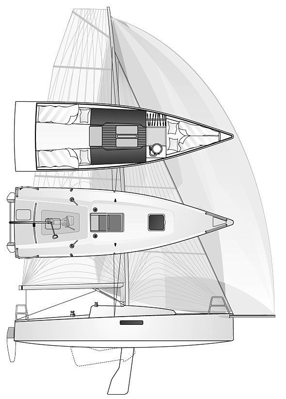 SailboatData com - SEASCAPE 27 Sailboat