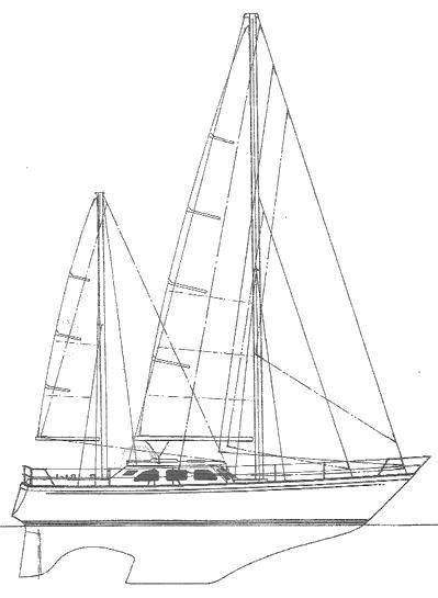 SEASTREAM 43 drawing