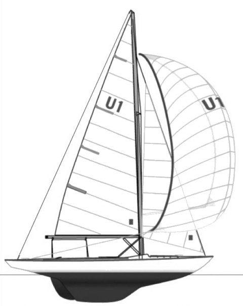 Seaview Mermaid (current) drawing on sailboatdata.com