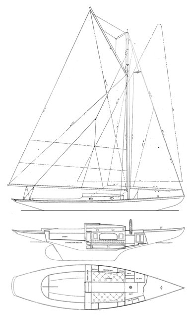 SEAWANHAKA KNOCKABOUT drawing