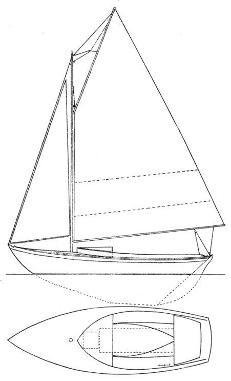 SEAWANHAKA ONE-DESIGN (HERRESHOFF) drawing