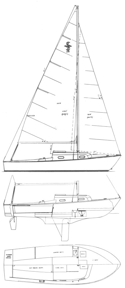 SEVERN 20 drawing