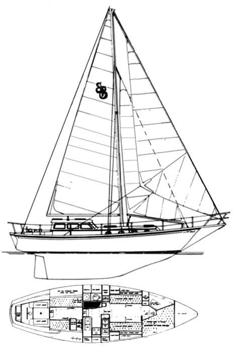 SHANNON 38 PH drawing