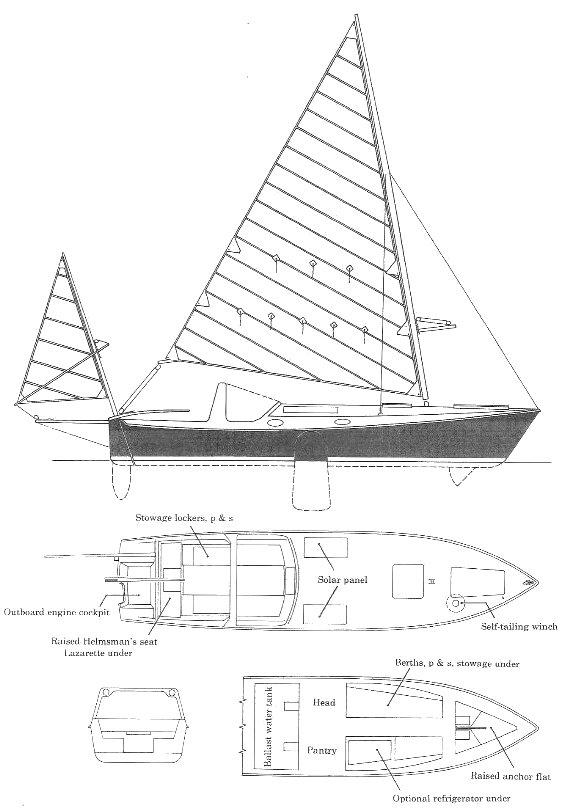 SHEARWATER 28 (EDEY & DUFF) drawing