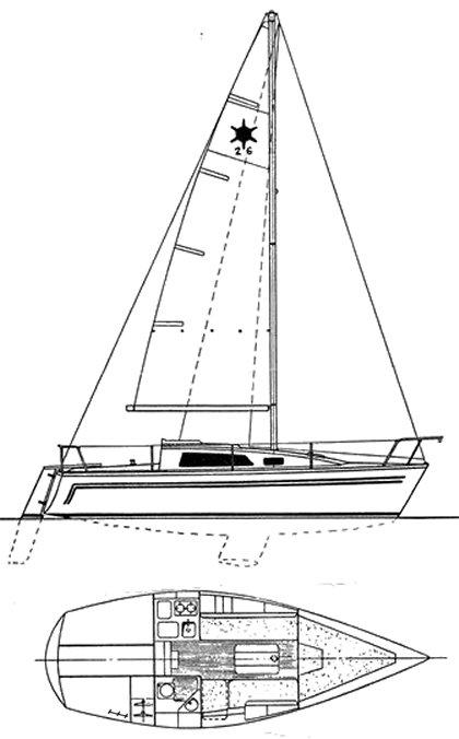 SIRIUS 26 drawing