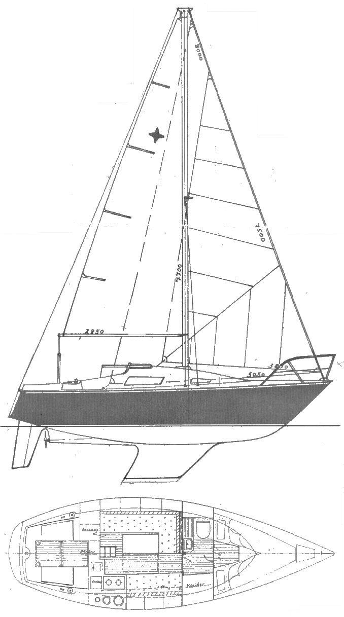 SIRIUS 26 (STREUER) drawing
