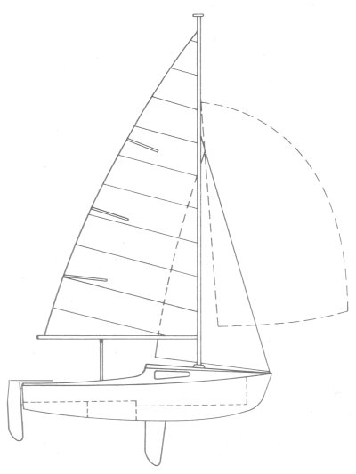 Sirocco 15 drawing on sailboatdata.com