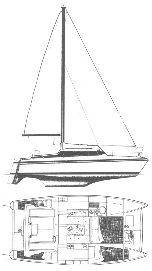 SIROCCO 26 (PROUT) drawing