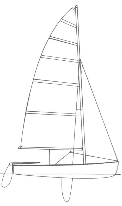 SKIPJACK 15 drawing