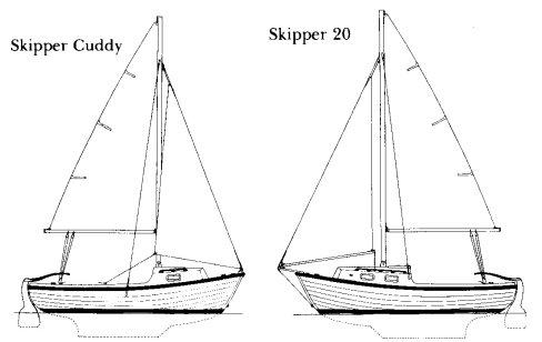 SKIPPER 20 drawing