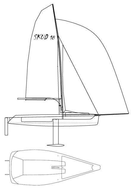 SKUD 18 drawing