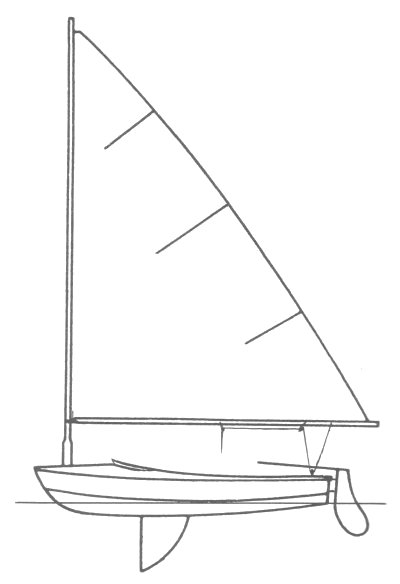 Snowbird drawing on sailboatdata.com