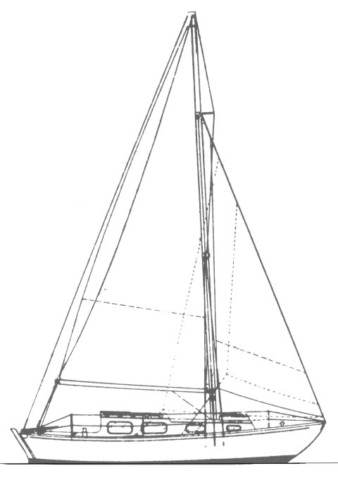 South Coast One-Design drawing on sailboatdata.com