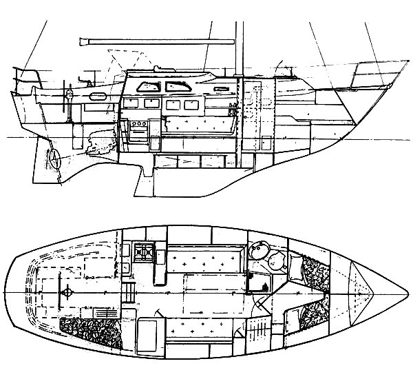 SOVEREIGN 32 drawing