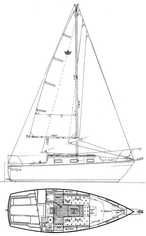 SOVEREIGN PRINCESS 24 drawing