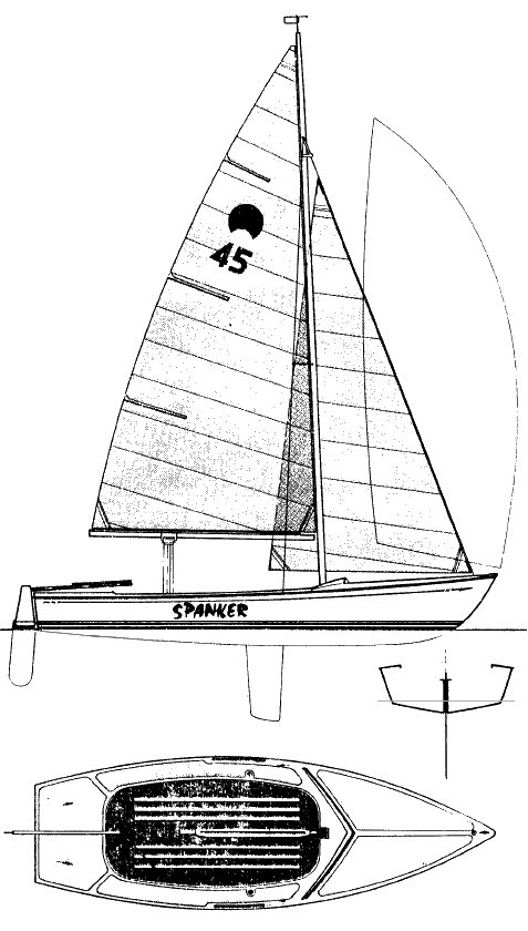 SPANKER 19 drawing