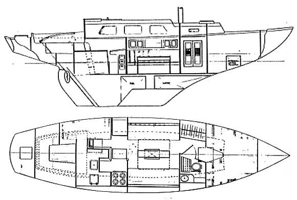SPENCER 35 MKII drawing