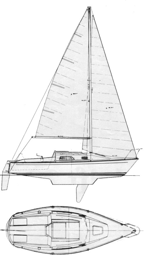 SPINDRIFT 22 drawing