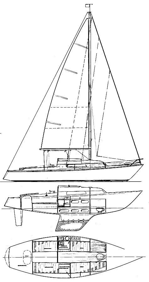 SPIRIT 24 (VAN DE STADT) drawing