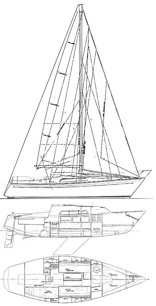 SPIRIT 28 (VAN DE STADT) drawing