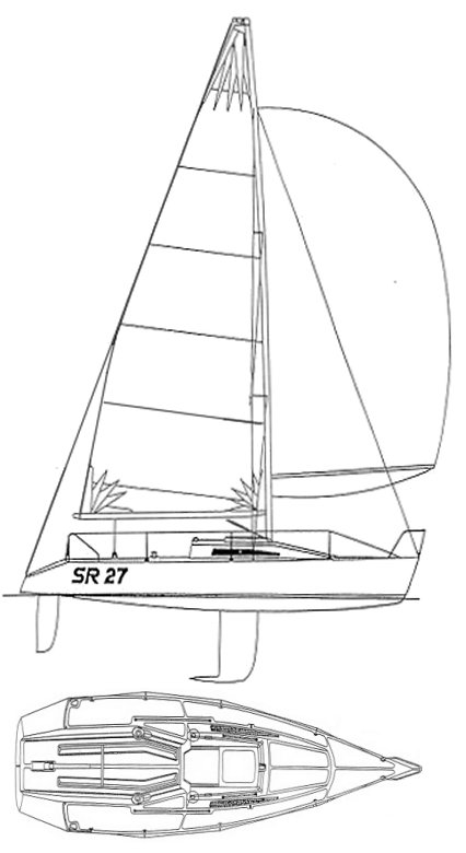 SR 27 sailboat specifications and details on sailboatdata.com