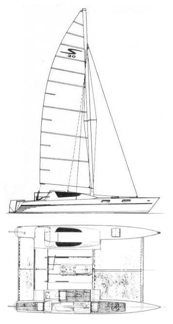 STILETTO 30 drawing