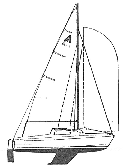 Stortriss MKII drawing on sailboatdata.com