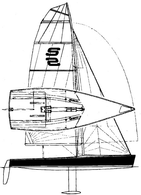 Streamline drawing on sailboatdata.com