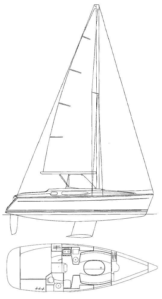 Sailboatdata Com Sun Odyssey 32 2 Jeanneau Sailboat