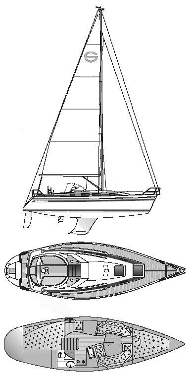 SUNBEAM 33 drawing