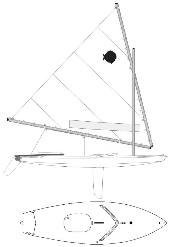 Sunfish Sailboat Specifications And Details On Sailboatdata