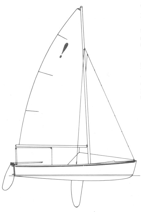 Surprise 15 drawing on sailboatdata.com